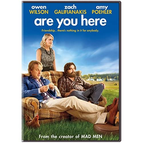 Image 0 of Are You Here On DVD With Owen Wilson Comedy