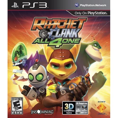 Image 0 of Sony PlayStation Ratchet And Clank: All 4 One PS3 With Case
