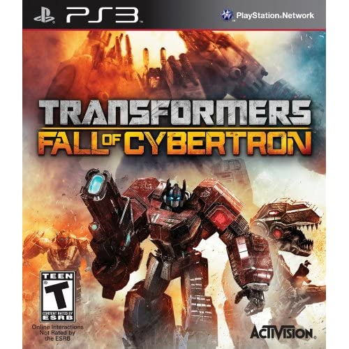 Transformers: Fall Of Cybertron For PlayStation 3 PS3