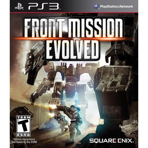 Front Mission Evolved For PlayStation 3 PS3 Fighting