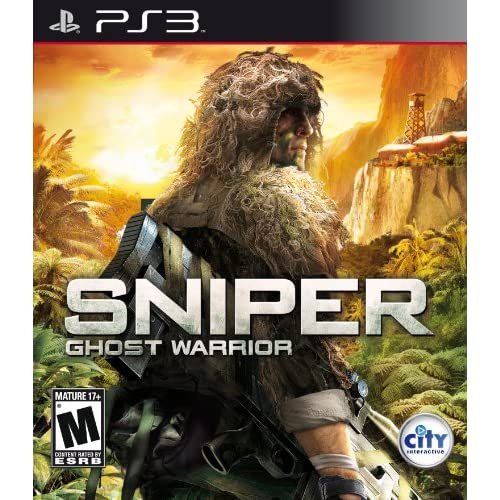 Sniper: Ghost Warrior For PlayStation 3 PS3