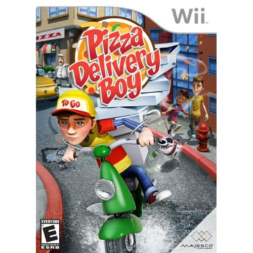 Image 0 of Pizza Delivery Boy For Wii