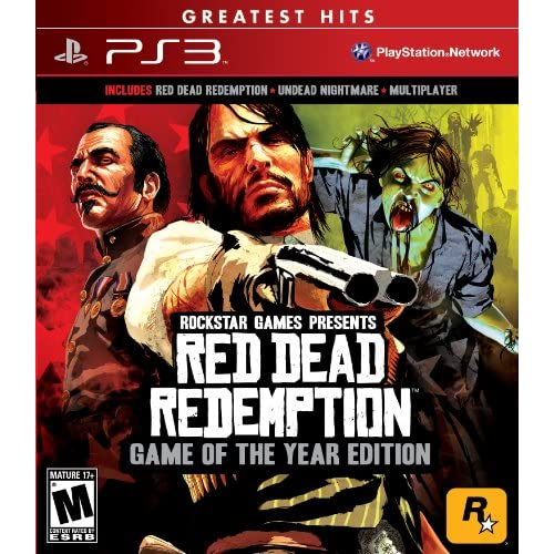 Red Dead Redemption Game Of The Year For PlayStation 3 PS3