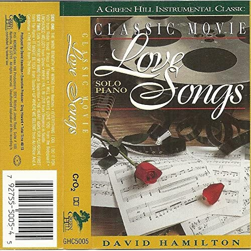 Image 0 of Classic Movie Love Songs By David Hamilton And Various Contributors Composer On