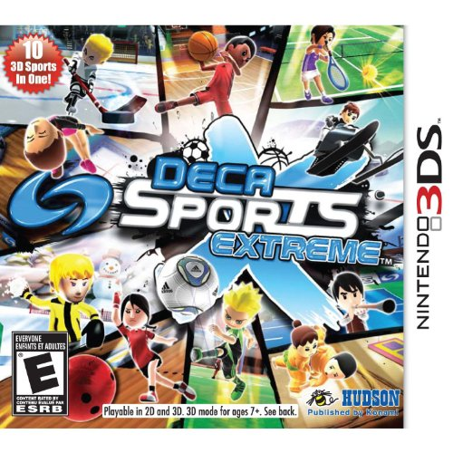 Deca Sports Extreme Nintendo For 3DS