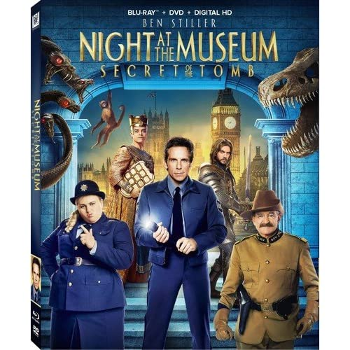 Image 0 of Night At The Museum: Secret Of The Tomb On Blu-Ray With Dan Stevens