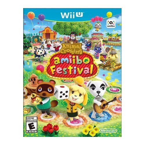 Animal Crossing: Amiibo Festival Game Only For Wii U With Manual and Case