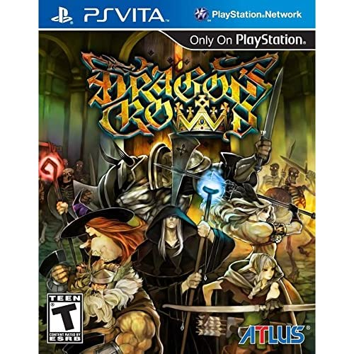 Dragon's Crown PlayStation Vita For Ps Vita RPG With Manual and Case
