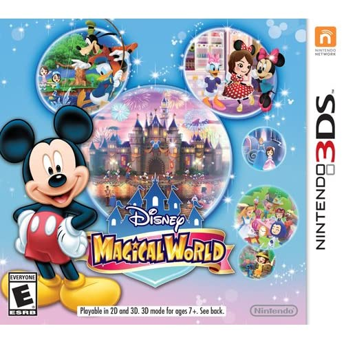 Disney Magical World Nintendo For 3DS RPG With Manual and Case