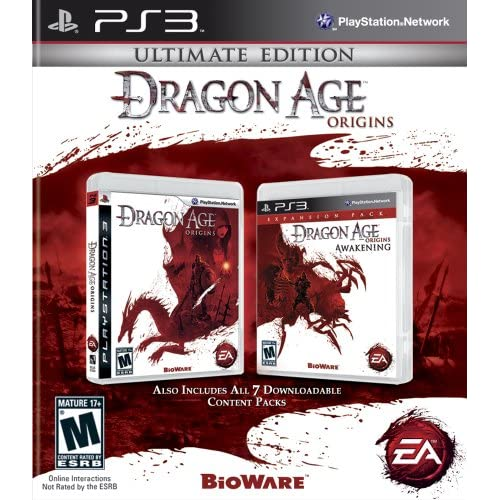 Image 0 of Dragon Age Origins: Ultimate Edition For PlayStation 3 PS3 RPG With
