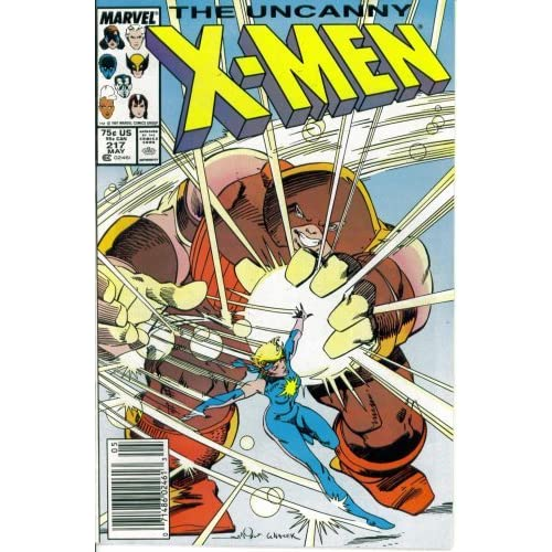 The Uncanny X-Men #217 Folly's Gambit Marvel Comics Book