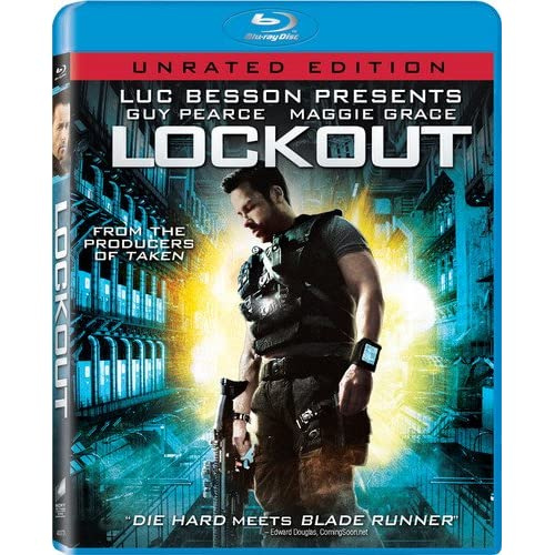 Image 0 of Lockout Unrated Edition Blu-Ray On Blu-Ray With Joseph Gilgun