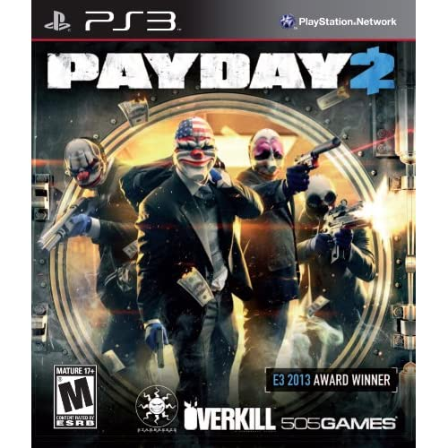 Image 0 of Payday 2 For PlayStation 3 PS3 Fighting