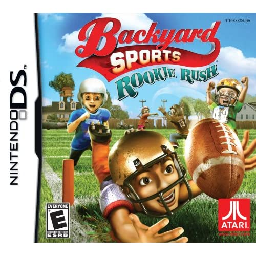 Backyard Sports Football: Rookie Rush For Nintendo DS DSi 3DS 2DS