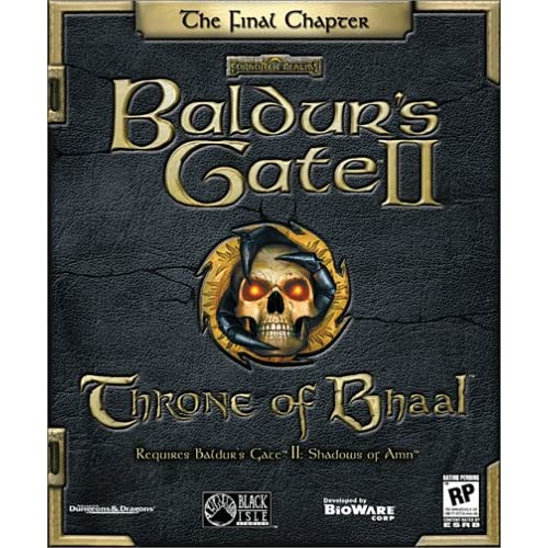 Baldur's Gate 2 Expansion: Throne Of Bhaal PC Software