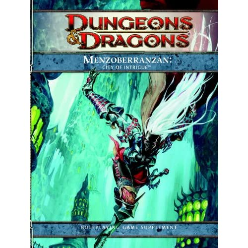 Image 0 of Menzoberranzan: City Of Intrigue Dungeons And Dragons Strategy Guide