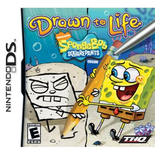 Image 0 of Drawn To Life: Spongebob Squarepants For Nintendo DS DSi 3DS 2DS