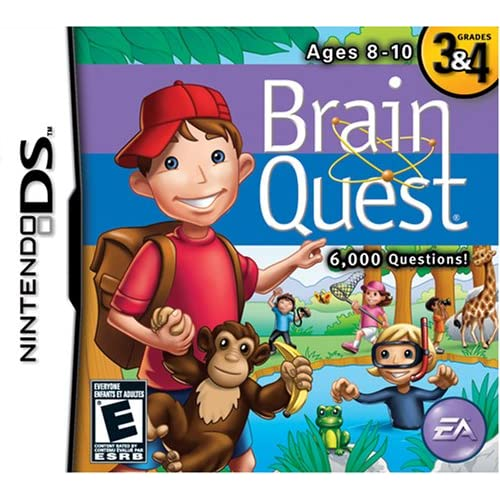 Image 0 of Brain Quest: Grades 3 & 4 For Nintendo DS DSi 3DS Board Games