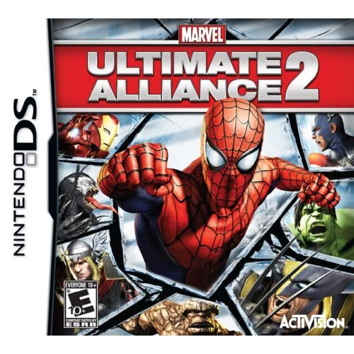 Image 0 of Marvel Ultimate Alliance 2 For Nintendo DS DSi 3DS 2DS RPG