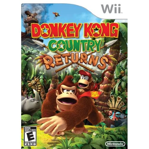 Image 0 of Donkey Kong Country Returns For Wii