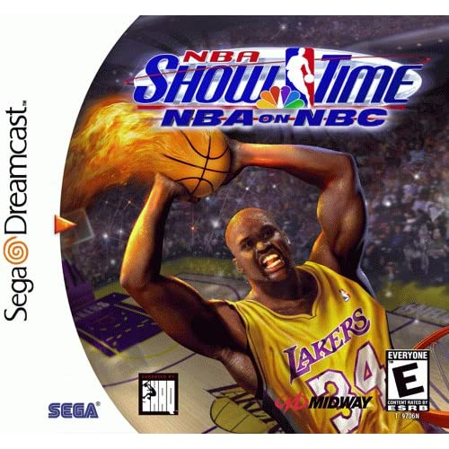 NBA Showtime: NBA On NBC Gold For Sega Dreamcast Basketball