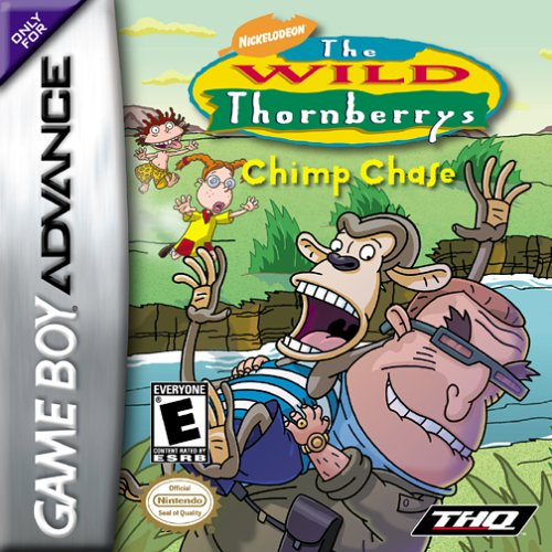 Image 0 of The Wild Thornberrys Chimp Chase For GBA Gameboy Advance