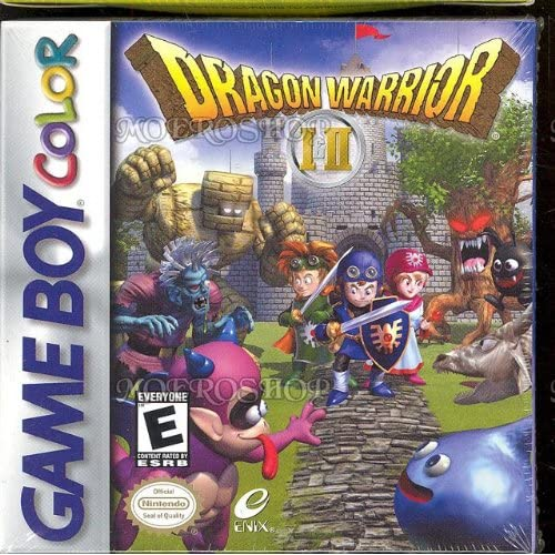 Dragon Warrior I And II On Gameboy Color RPG