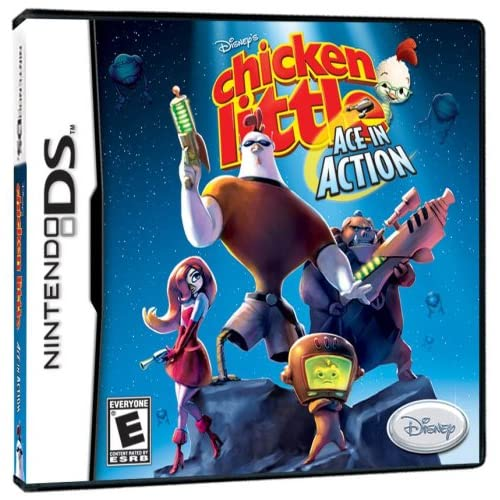 Image 0 of Chicken Little: Ace In Action For Nintendo DS DSi 3DS 2DS Disney