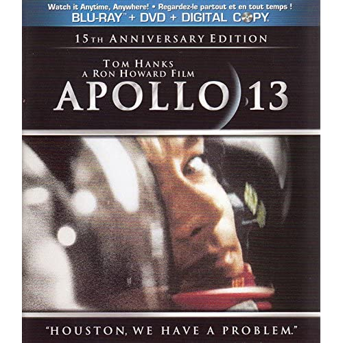 Apollo 13 Blu-Ray On Blu-Ray With Tom Hanks