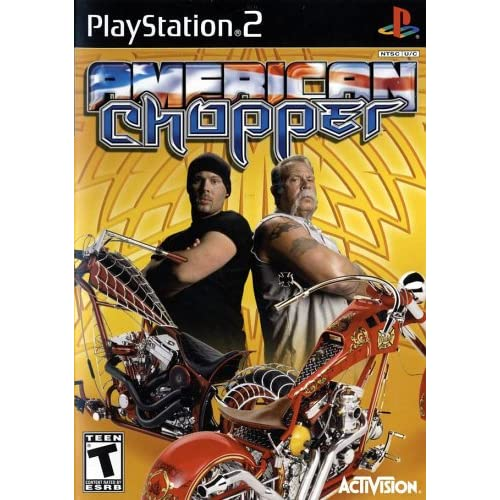 American Chopper For PlayStation 2 PS2