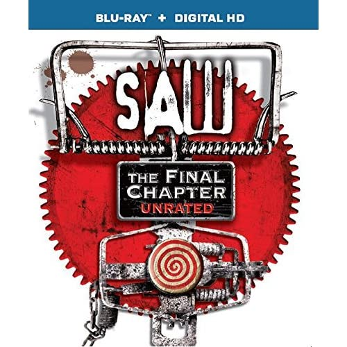 Image 0 of Saw The Final Chapter Blu-Ray Digital HD On Blu-Ray With Tobin Bell Horror