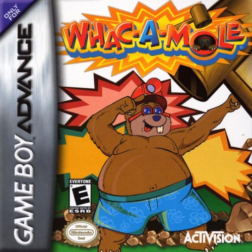 Image 0 of Whac-A-Mole Game Boy Advance For GBA Gameboy Advance