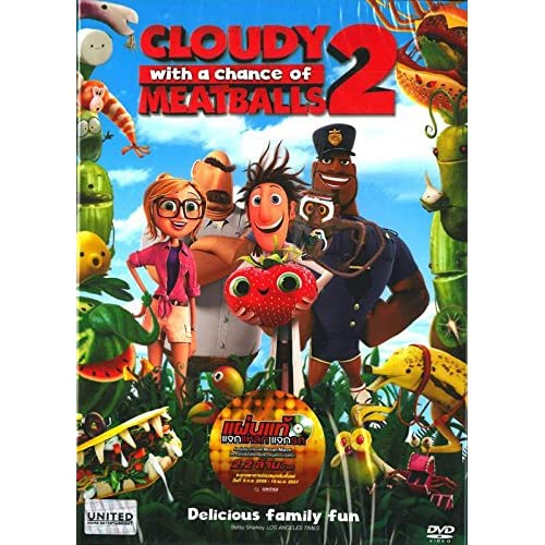Image 0 of Cloudy With A Chance Of Meatballs 2 DVD 2014 On DVD