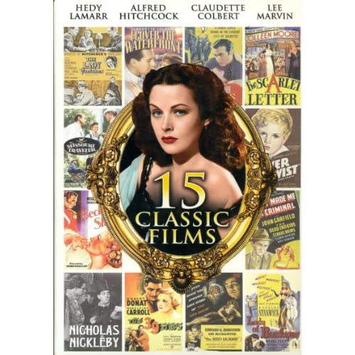 15 Classic Films Gift Box On DVD With Claudette Colbert