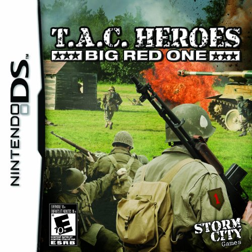 Image 0 of Tac Heroes Big Red One For Nintendo DS DSi 3DS 2DS Strategy