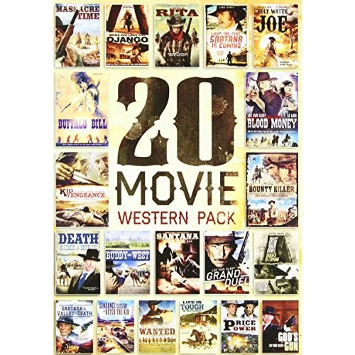 20-MOVIE Western Pack On DVD With George Hilton Westerns