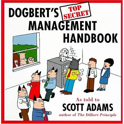 Dogbert's Top Secret Management Handbook By Adams Scott Adams Scott
