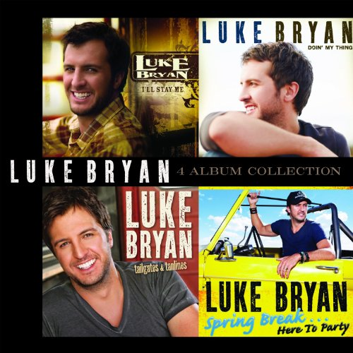 Image 0 of 4 Album Collection 4 CD By Luke Bryan On Audio CD 2013
