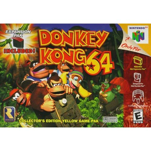 Donkey Kong 64 Nintendo 64 For N64