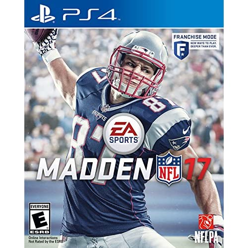Madden NFL 17 Standard Edition For PlayStation 4 PS4 Football