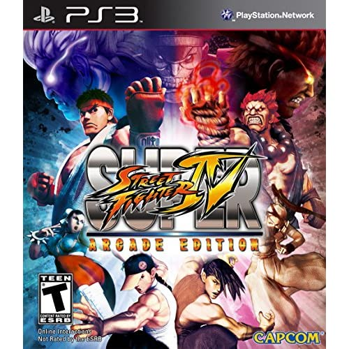 Super Street Fighter IV: Arcade Edition For PlayStation 3 PS3 Fighting