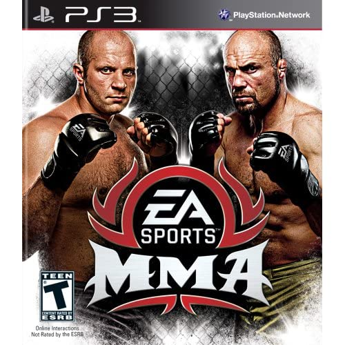 EA Sports Mma For PlayStation 3 PS3 Wrestling With Manual and Case