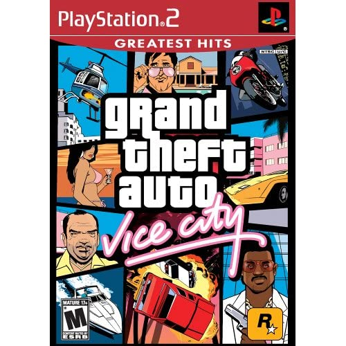 Image 0 of Grand Theft Auto Vice City For PlayStation 2 PS2 With Manual And Case