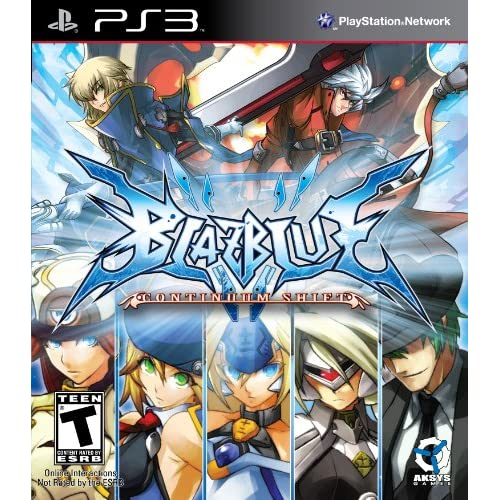 Blazblue: Continuum Shift For PlayStation 3 PS3 Fighting