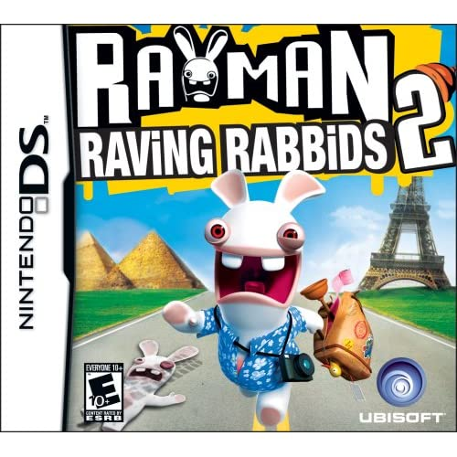 Image 0 of Rayman Raving Rabbids 2 For Nintendo DS DSi 3DS 2DS