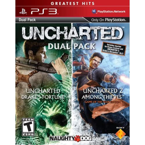 Image 0 of Uncharted Greatest Hits Dual Pack PlayStation 3