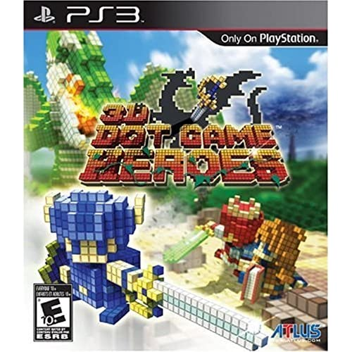 3D Dot Game Heroes For PlayStation 3 PS3