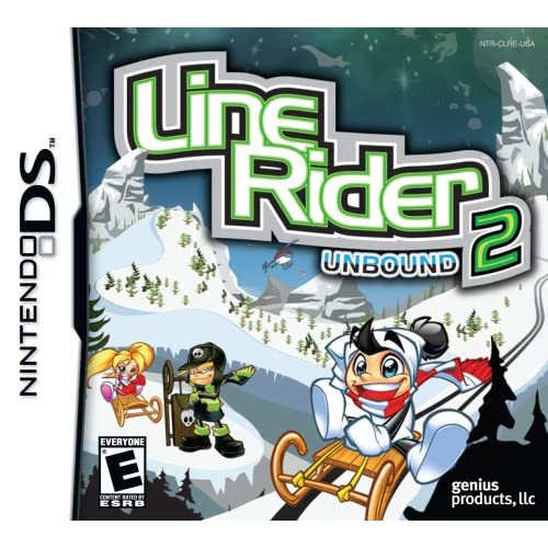 Image 0 of Line Rider 2: Unbound For Nintendo DS DSi 3DS