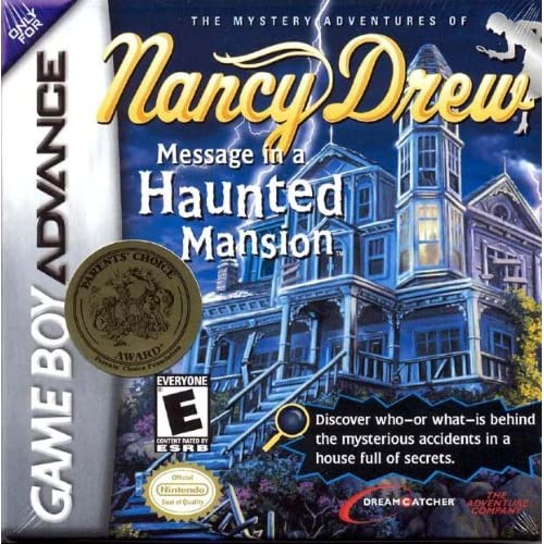 Image 0 of Nancy Drew: Message In A Haunted Mansion For GBA Gameboy Advance