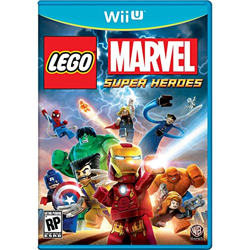 Lego: Marvel Super Heroes For Wii U Action